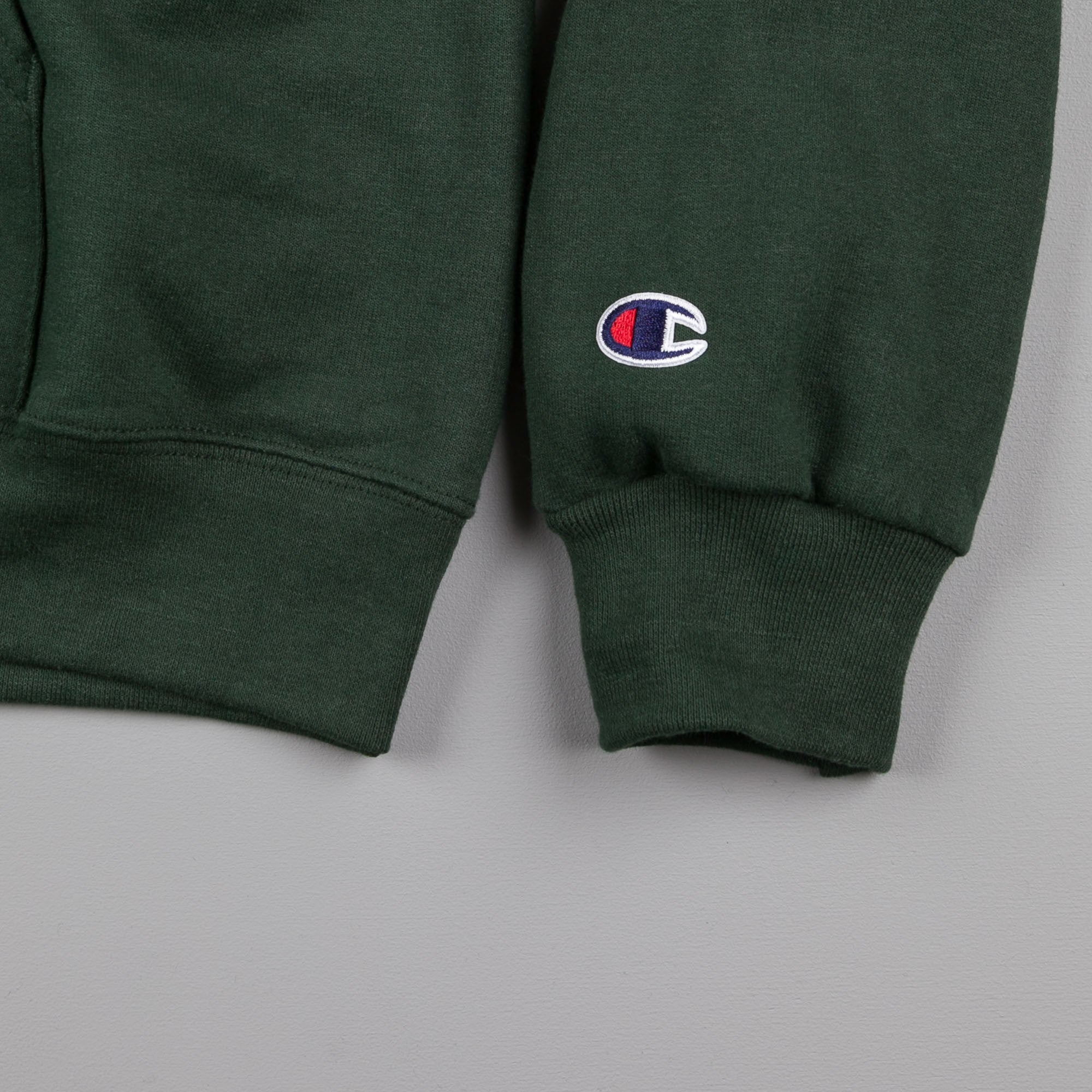 Stanton Street Sports Varsity Hooded Sweatshirt - Forest Green