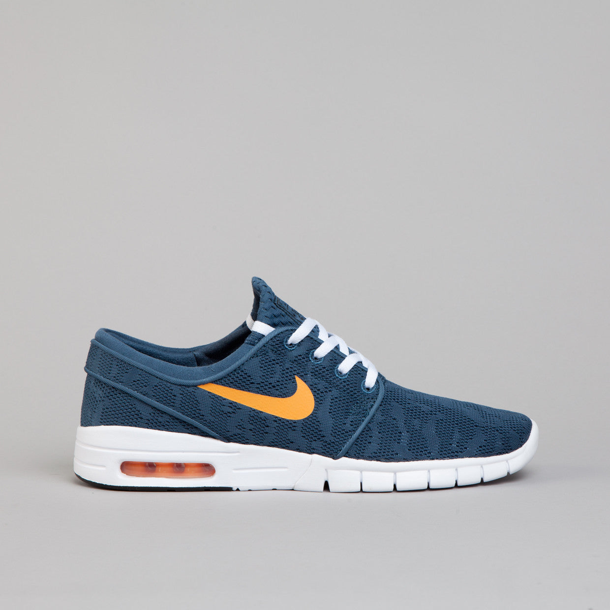 nike sb stefan janoski max new slate atomic mango flatspot. Black Bedroom Furniture Sets. Home Design Ideas