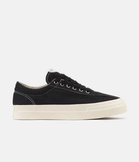 Stepney Workers Club Dellow Canvas Shoes - Black