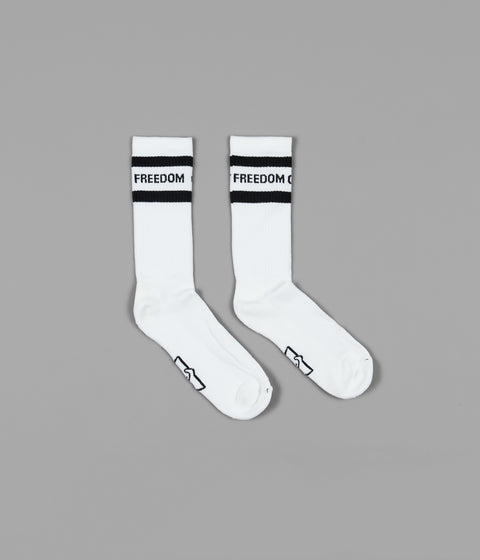 Stepney Workers Club FOS-FOT Socks - White