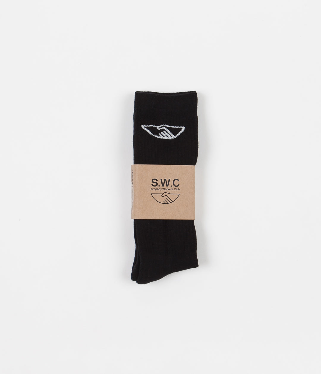 Stepney Workers Club Handshake Socks - Black