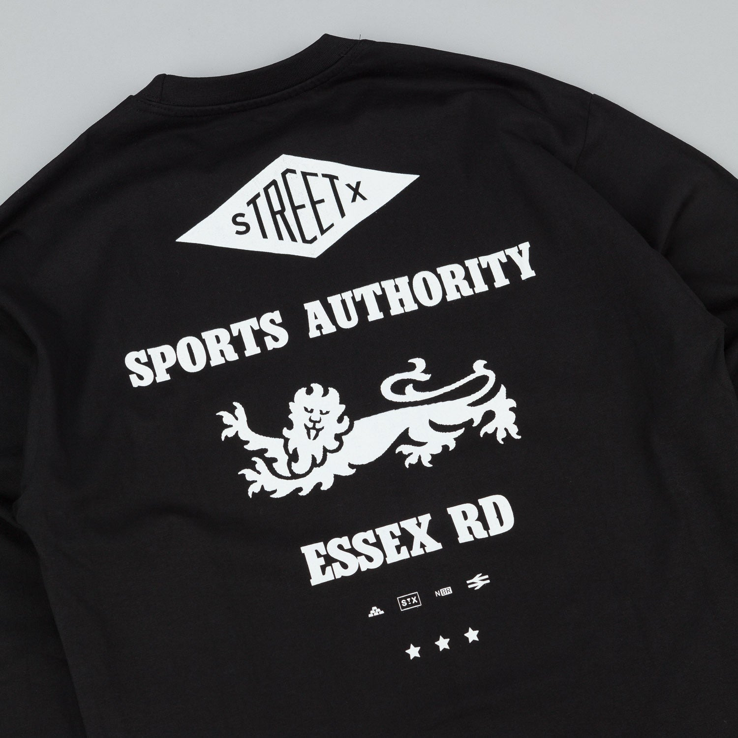 StreetX Essex Long Sleeve T-Shirt - Black