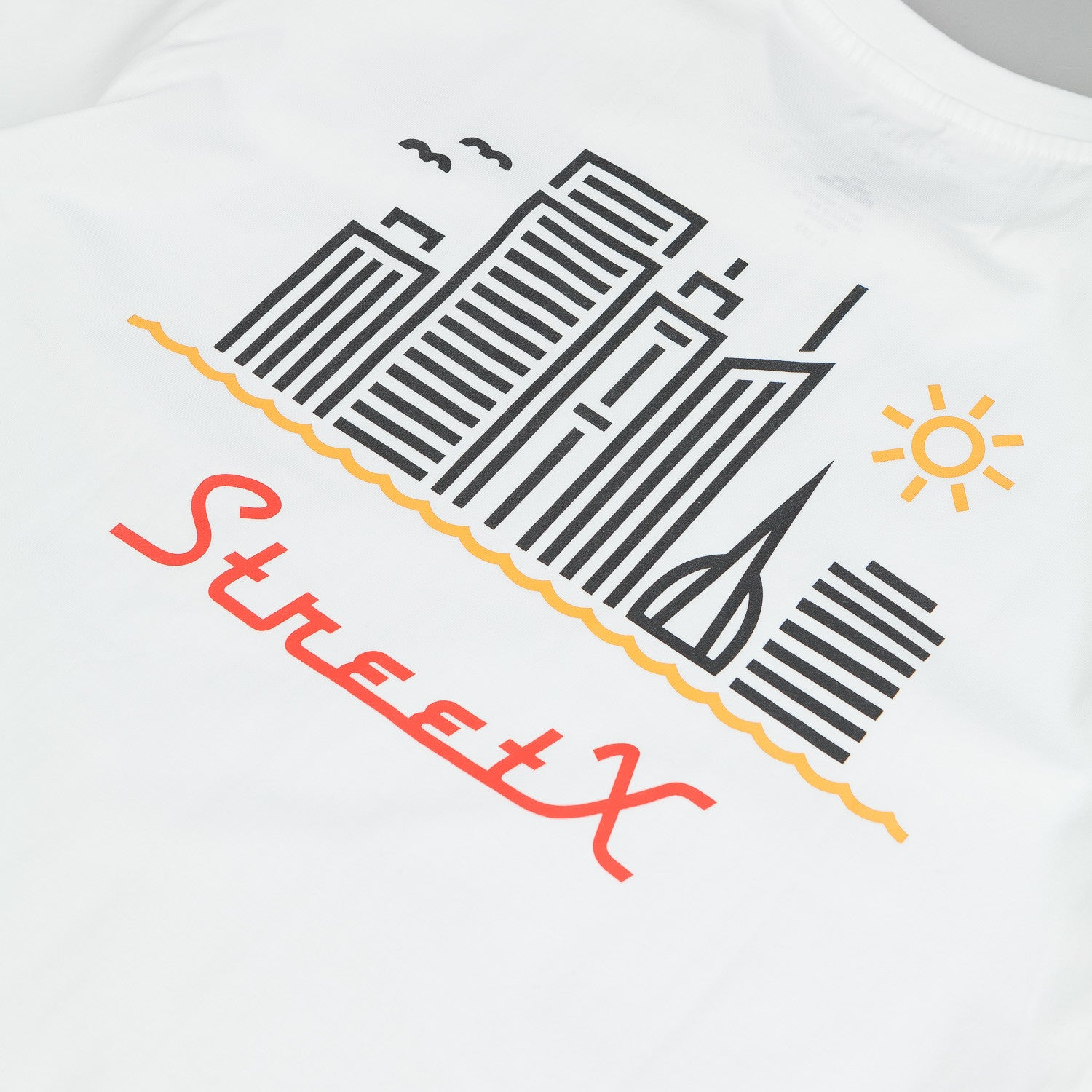StreetX Skyline T-Shirt - White