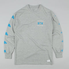 StreetX Speed L/S T-Shirt - Grey Marl