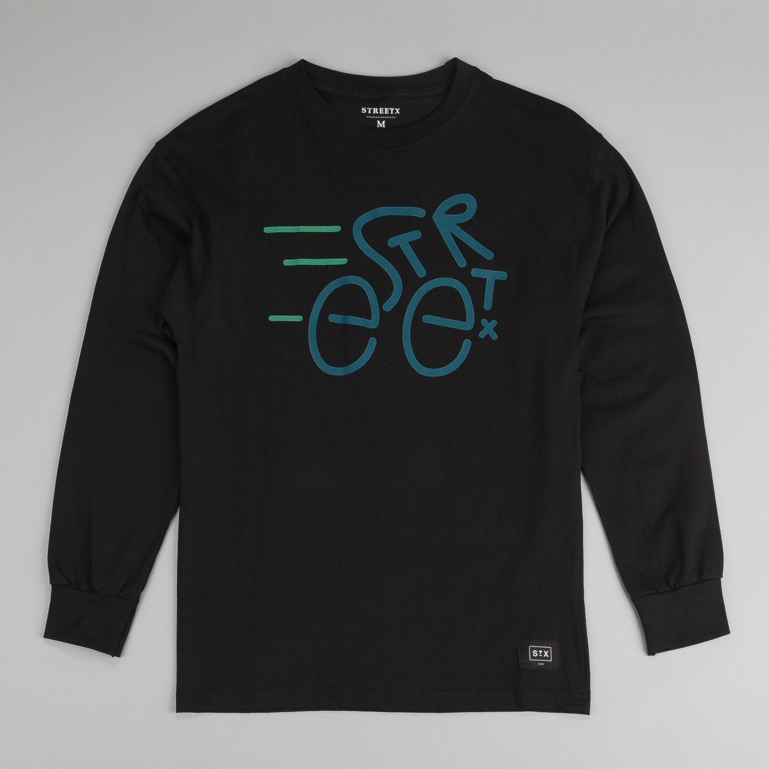 StreetX Bike L/S T-Shirt - Black