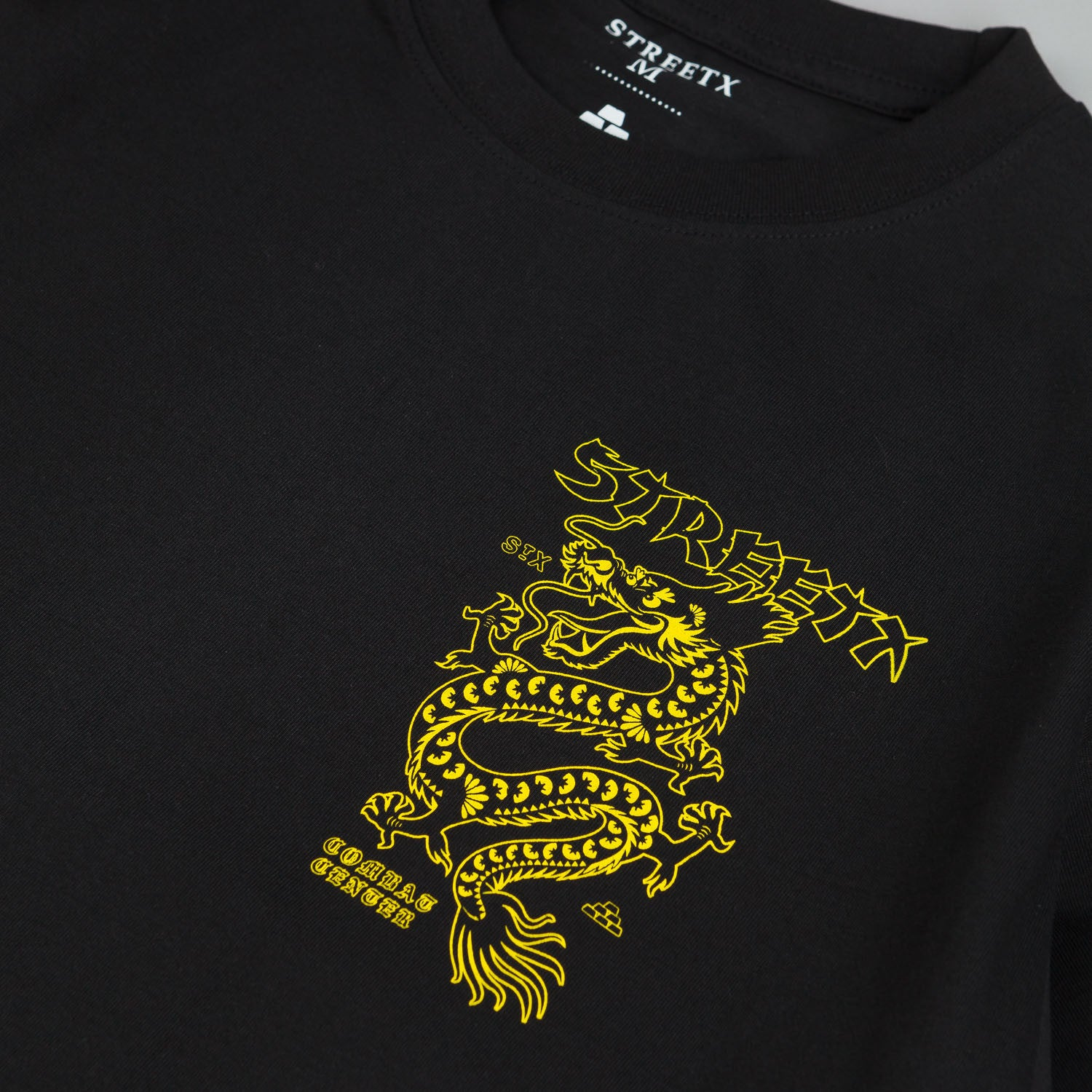 StreetX China Long Sleeve T-Shirt - Black