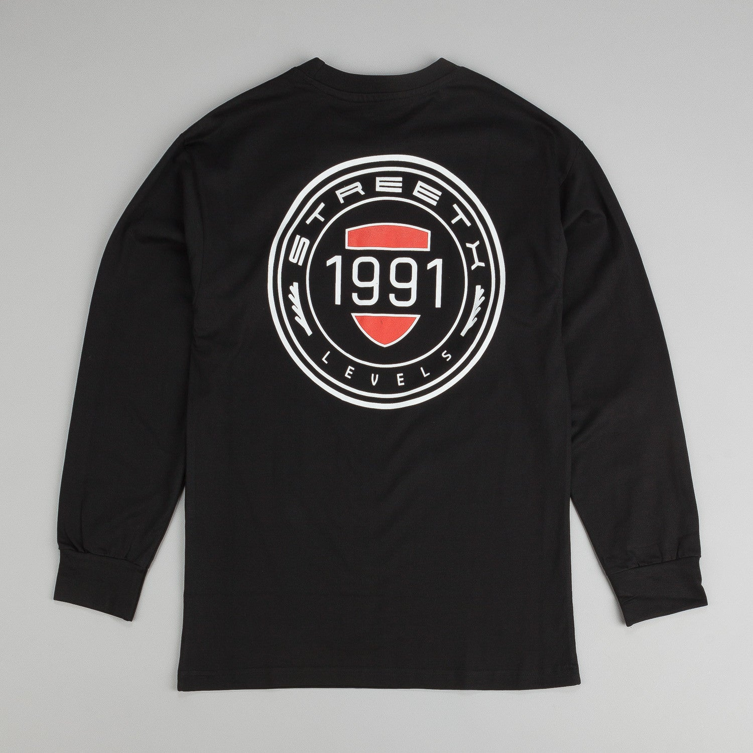 StreetX Levels L/S T-Shirt - Black