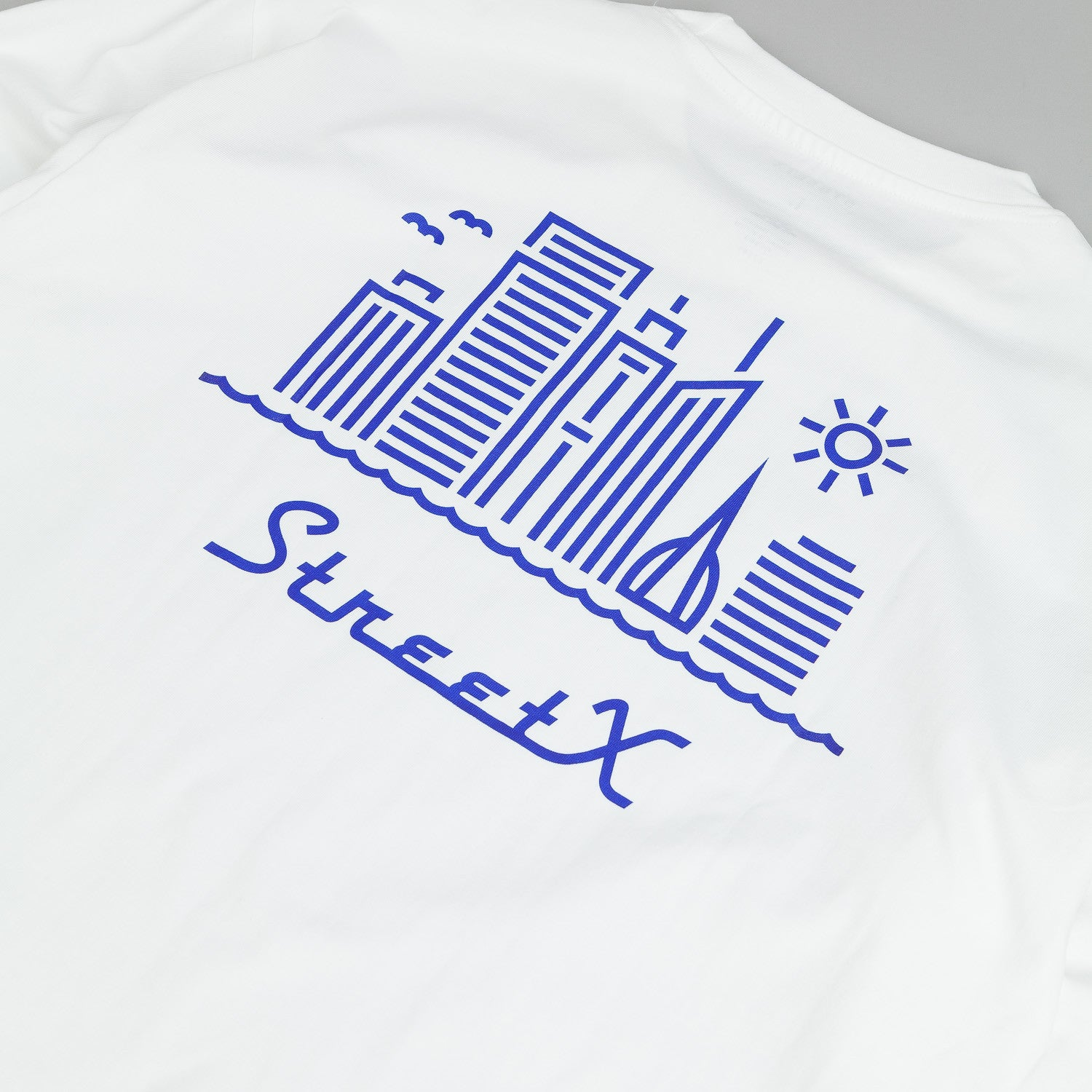 StreetX Skyline L/S T-Shirt - White