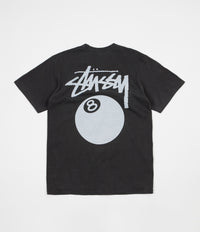 Stussy 8 Ball Pigment Dyed T-Shirt - Black