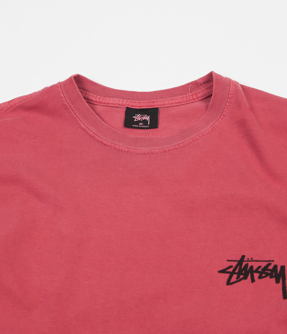 Stussy 8 Ball Pigment Dyed T-Shirt - Raspberry