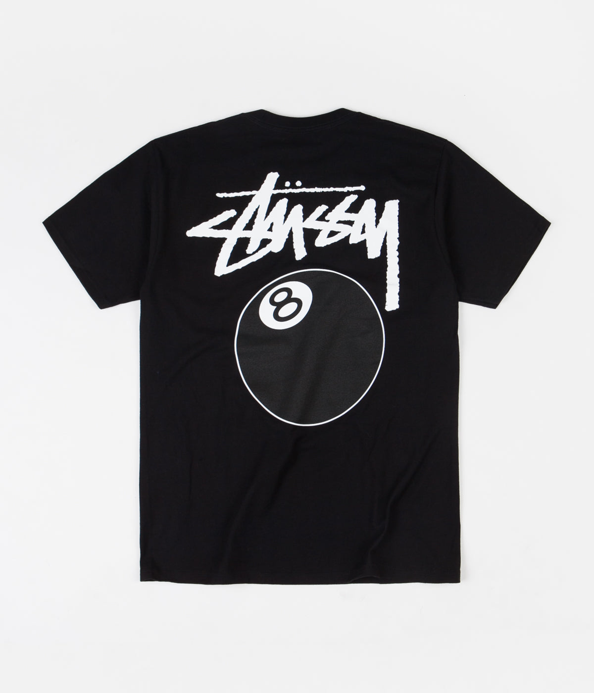 Stussy 8 Ball T-Shirt - Black