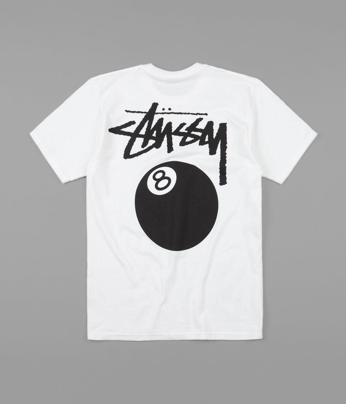 Stussy 8 Ball T-Shirt - White