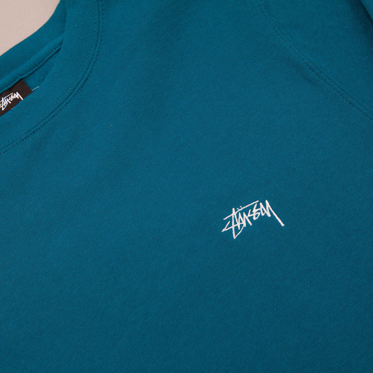 Stussy Back Arc Crewneck Sweatshirt - Blue