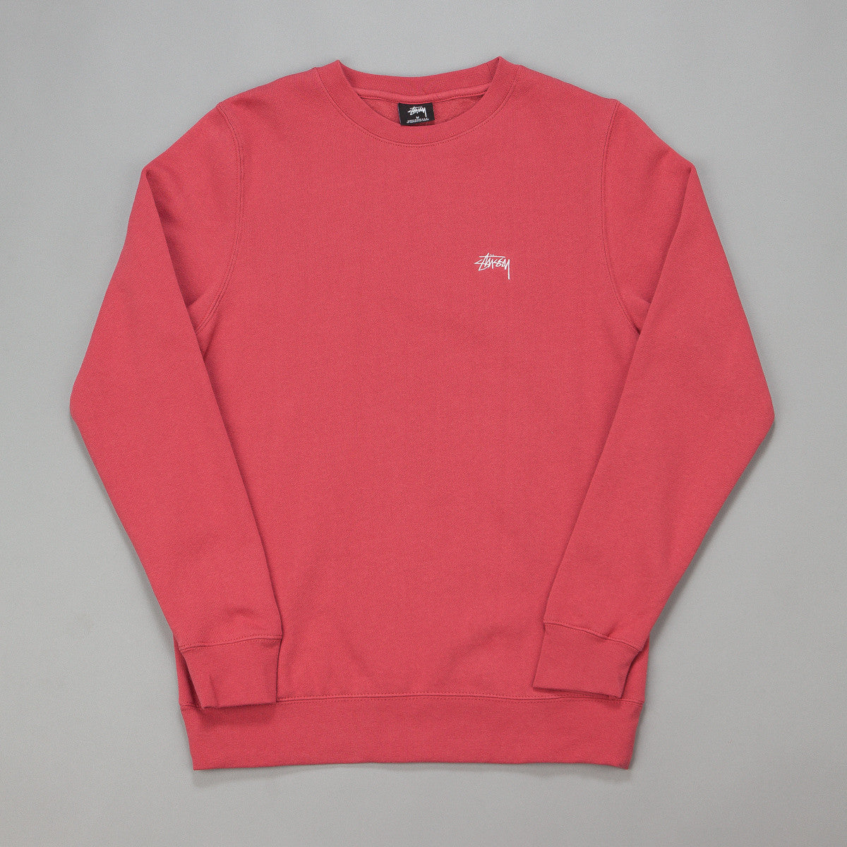 Stussy Back Arc Crewneck Sweatshirt