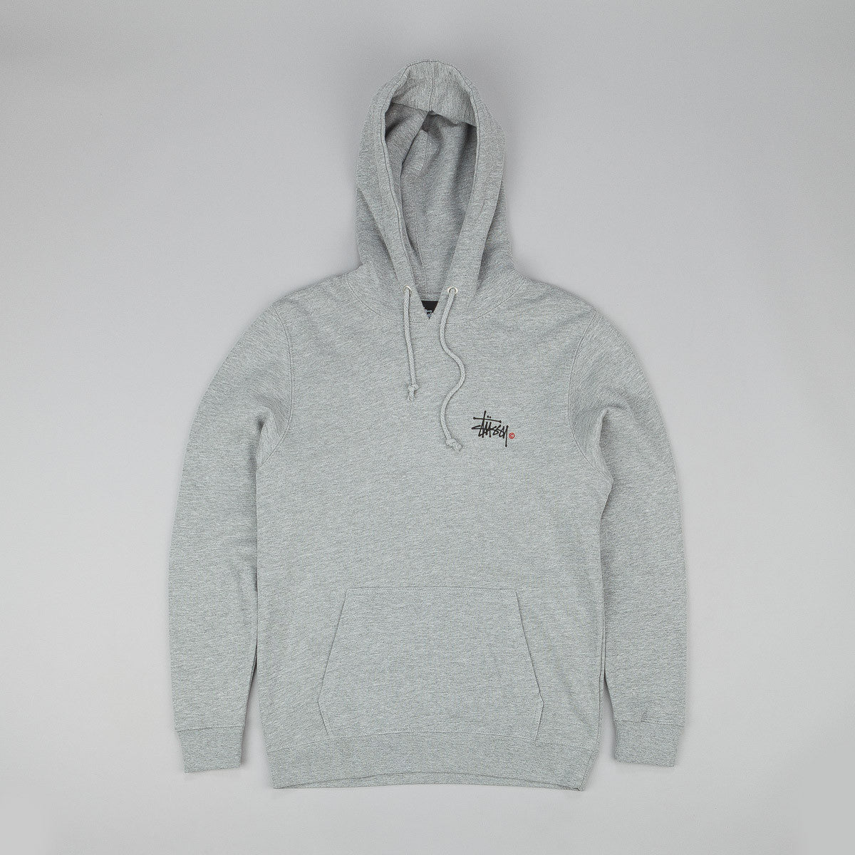 Stussy Basic Logo Hooded Sweatshirt