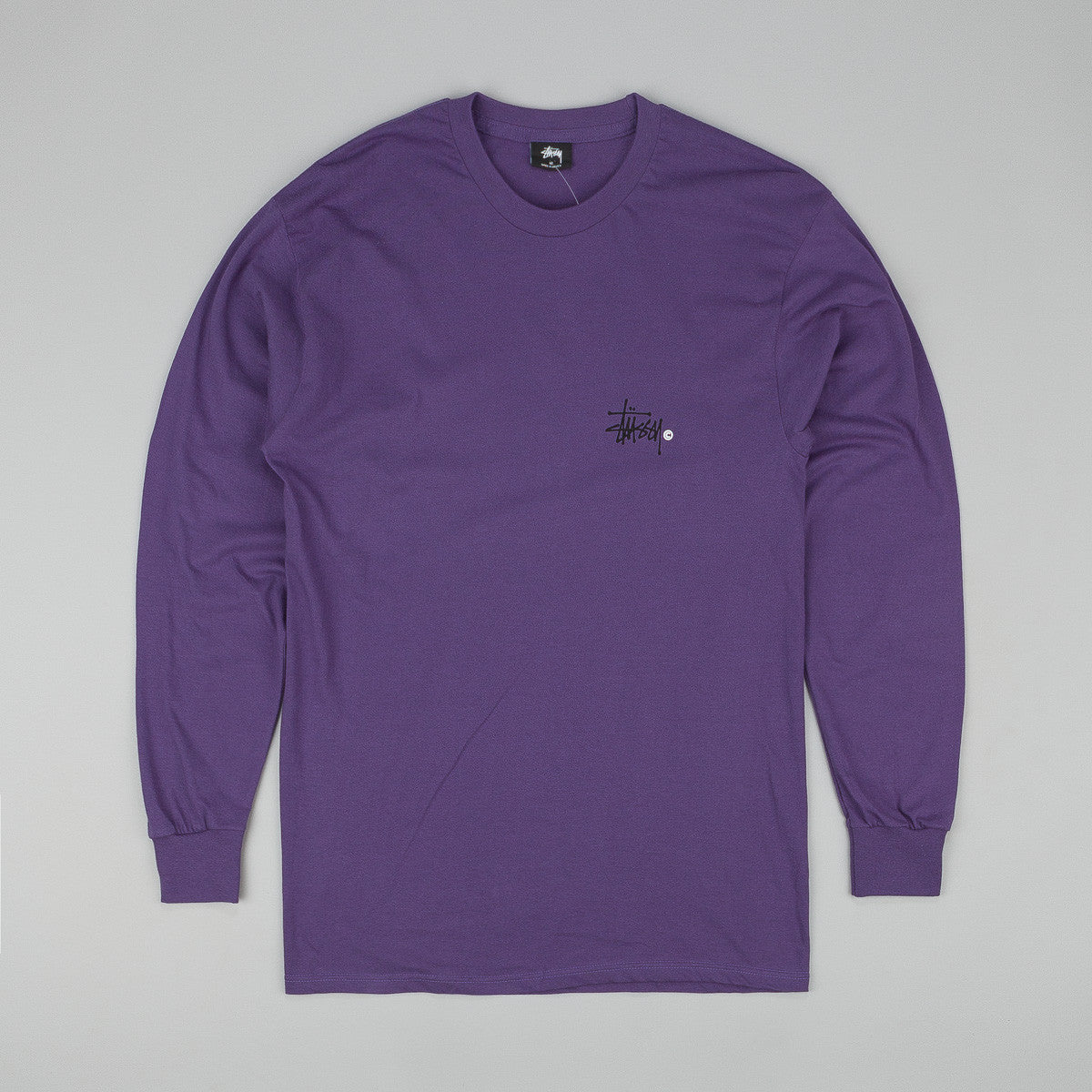 Stussy Basic Logo Long Sleeve T-Shirt