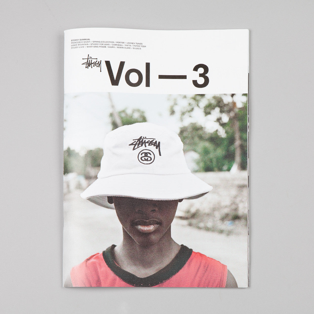 Stussy Biannual Volume 3 / Hat Cover