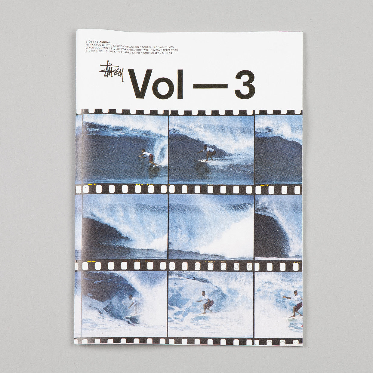 Stussy Biannual Volume 3 / Surf Cover