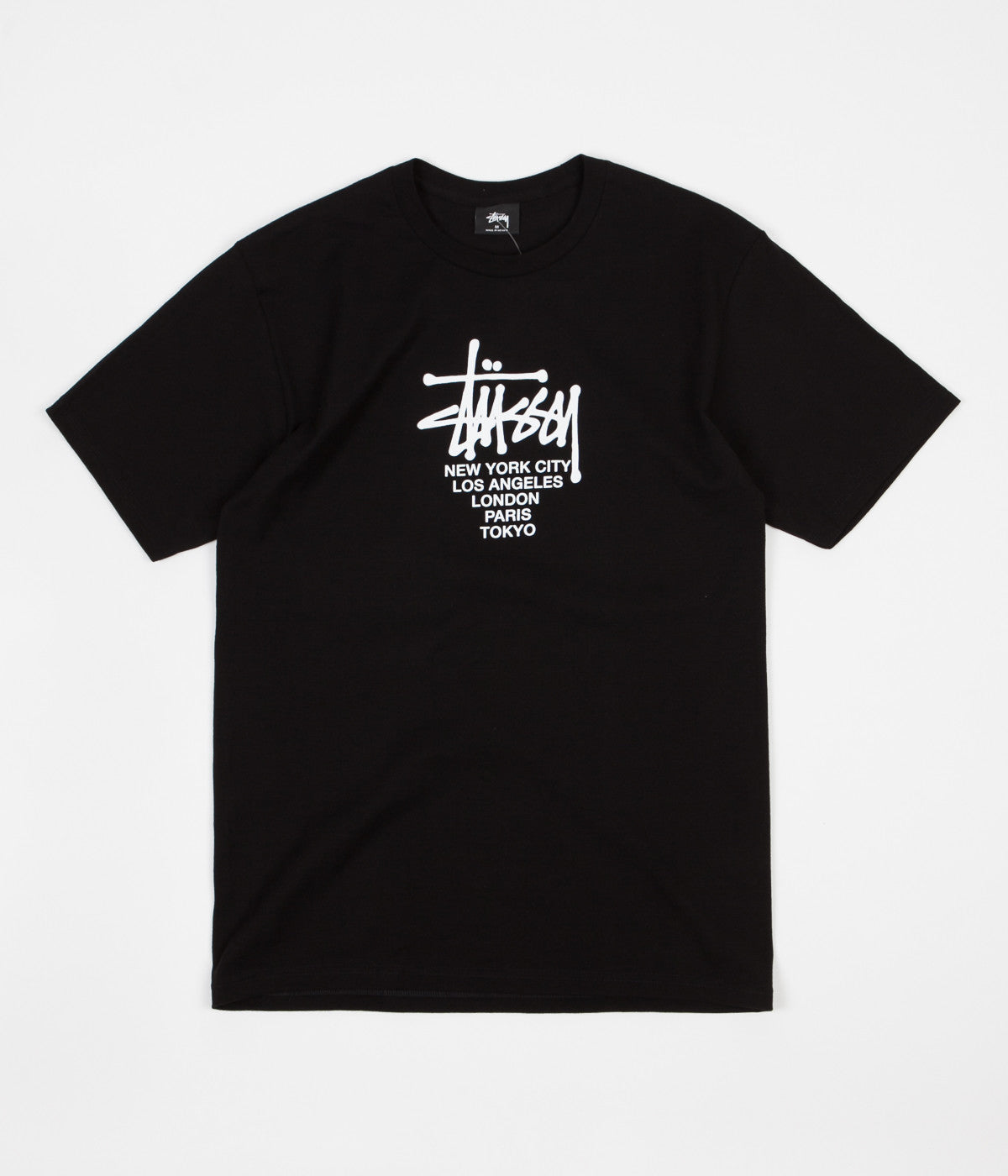 Stussy Big Cities T-Shirt - Black