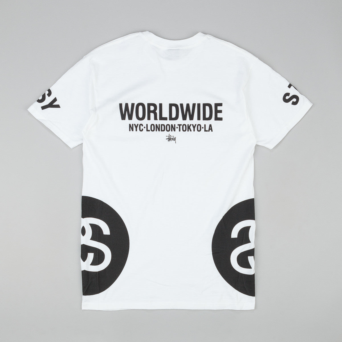 Stussy Big Links T-Shirt - White