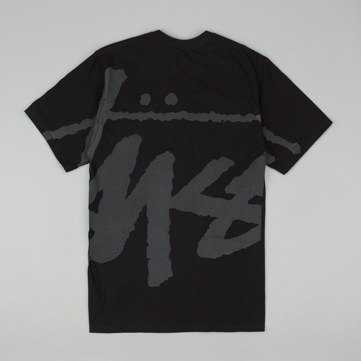 Stussy Big Stock T-Shirt - Black