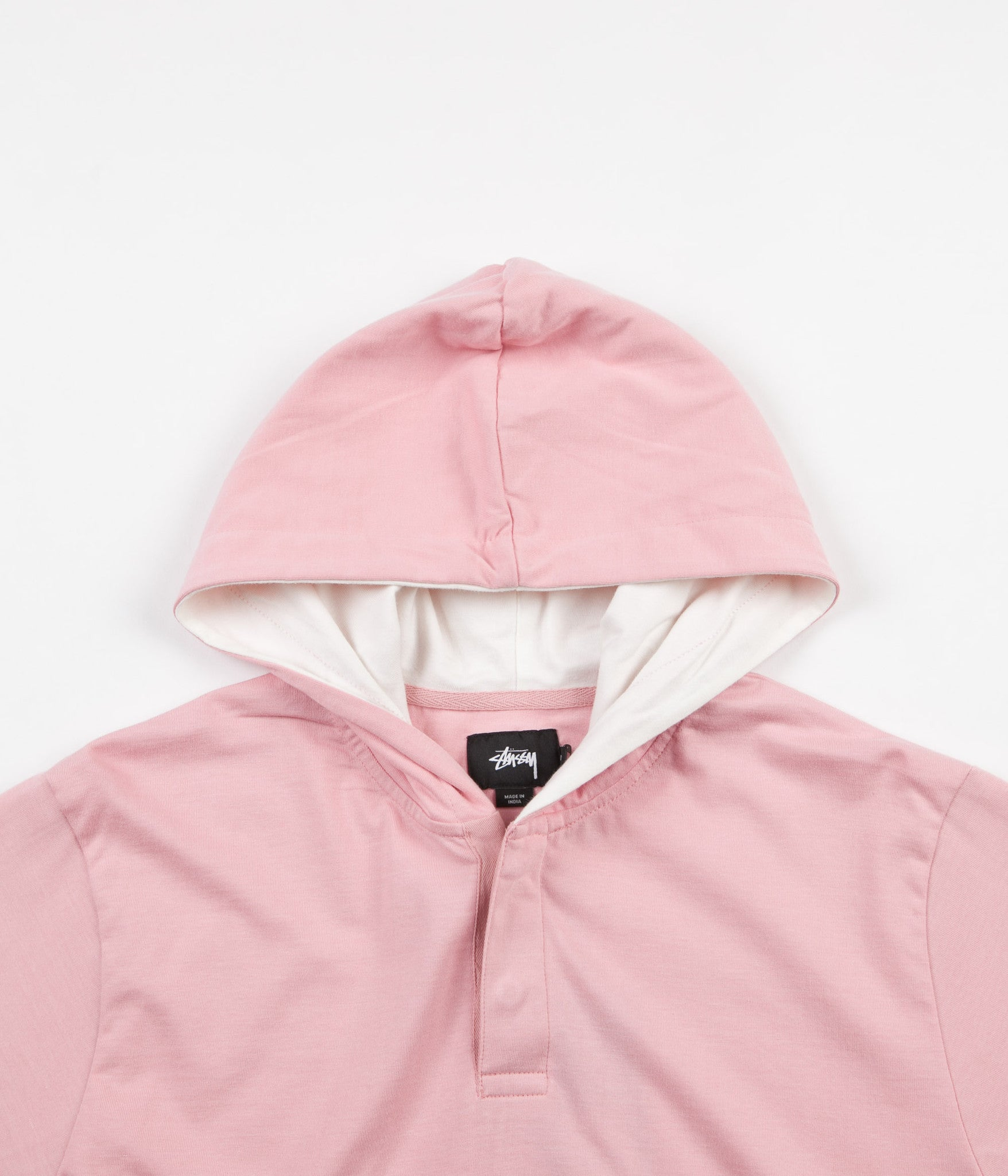 Stussy Block Hooded Jersey - Pine