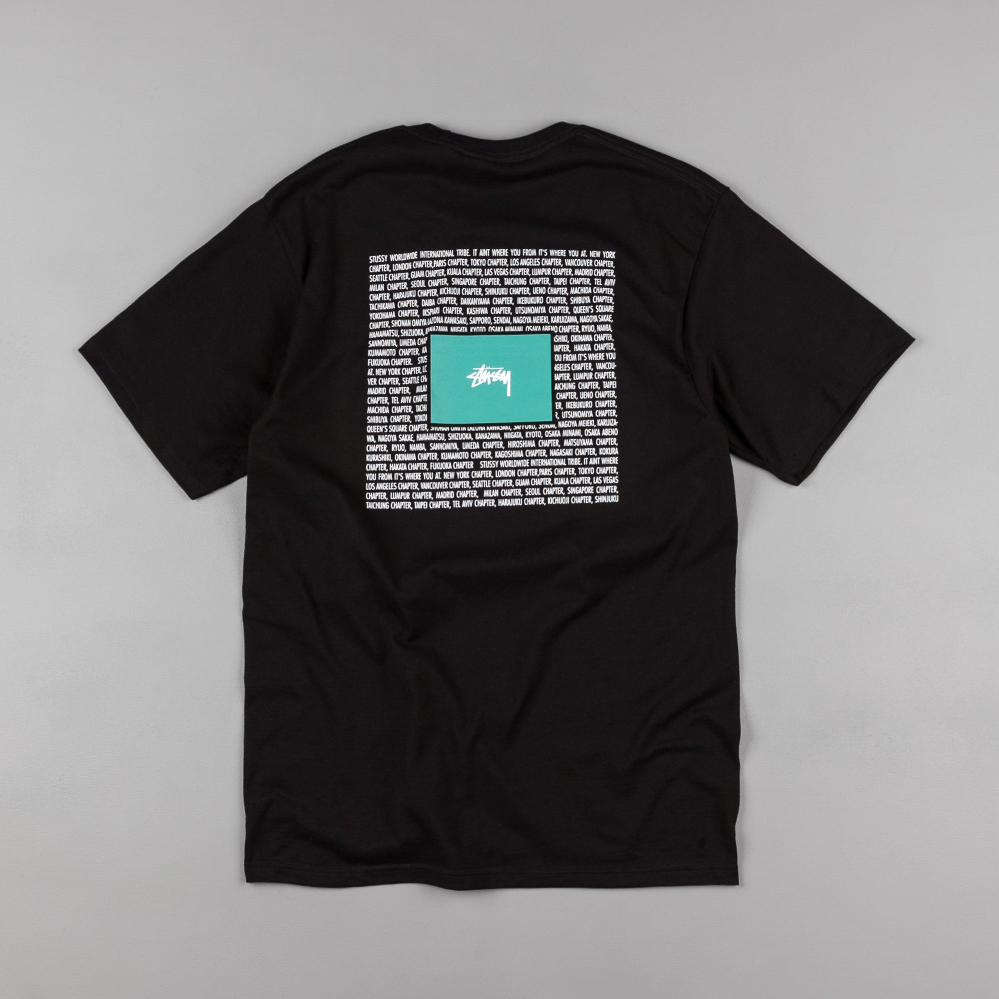 Stussy Chapters T-Shirt - Black