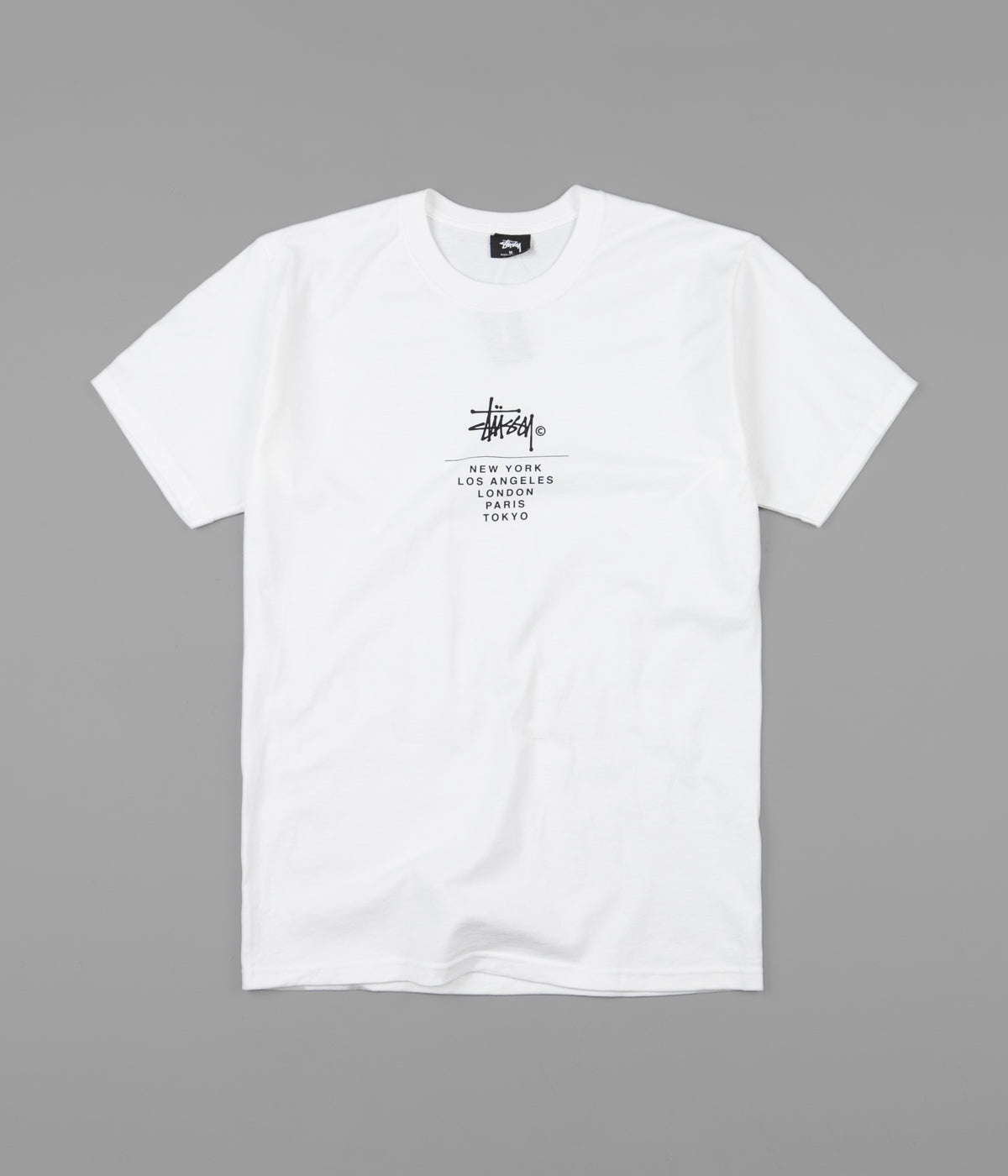 Stussy City Stack T-Shirt - White