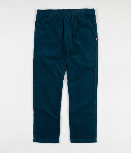Stussy Corduroy Beach Pants - Dark Teal