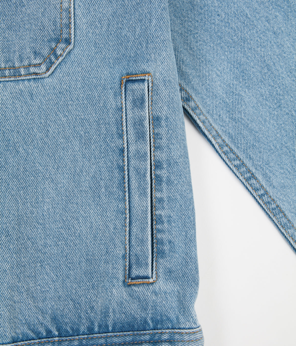 Stussy Denim Garage Jacket - Light Blue