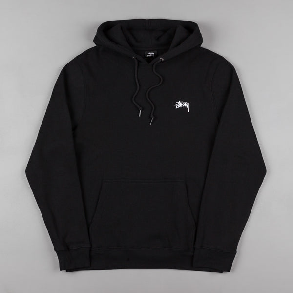 Stussy Diamond Applique Hooded Sweatshirt - Black