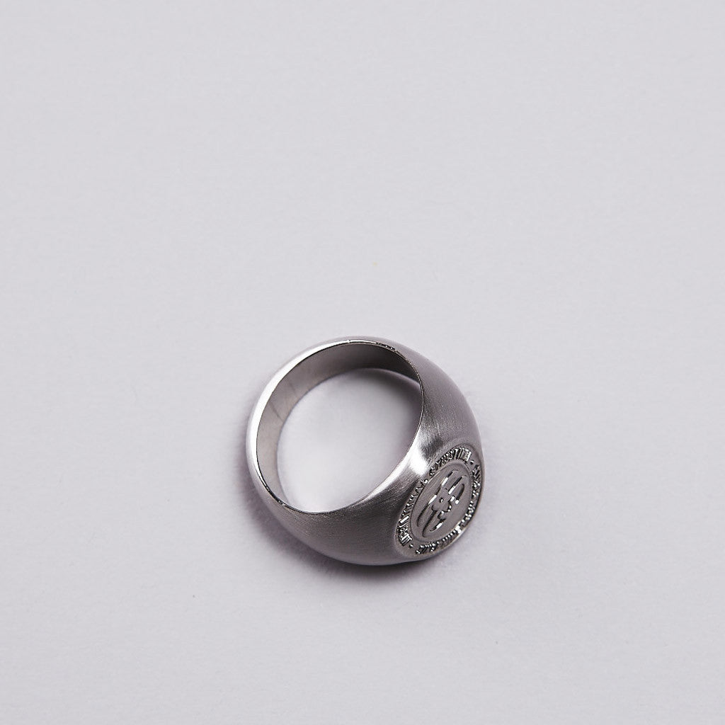 Stussy Double S Ring Silver