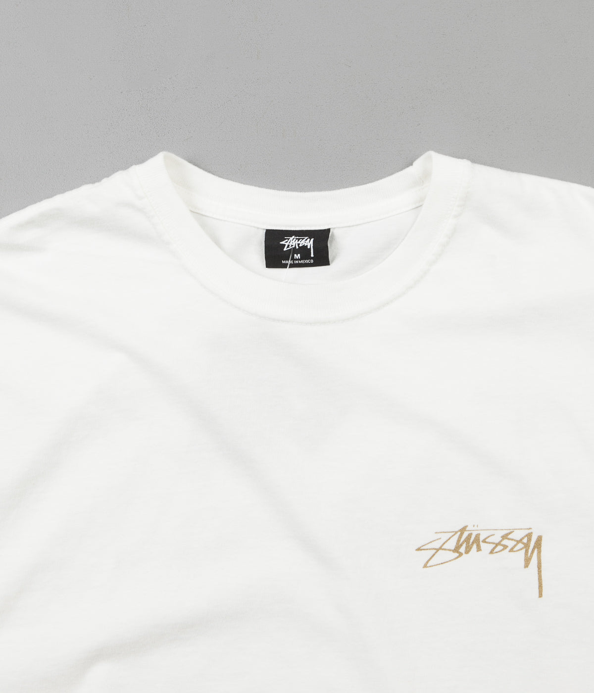 Stussy Fu Dog Pigment Dyed T-Shirt - Natural