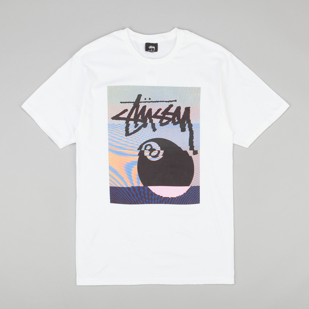 Stussy Glitch 8 Ball T-Shirt