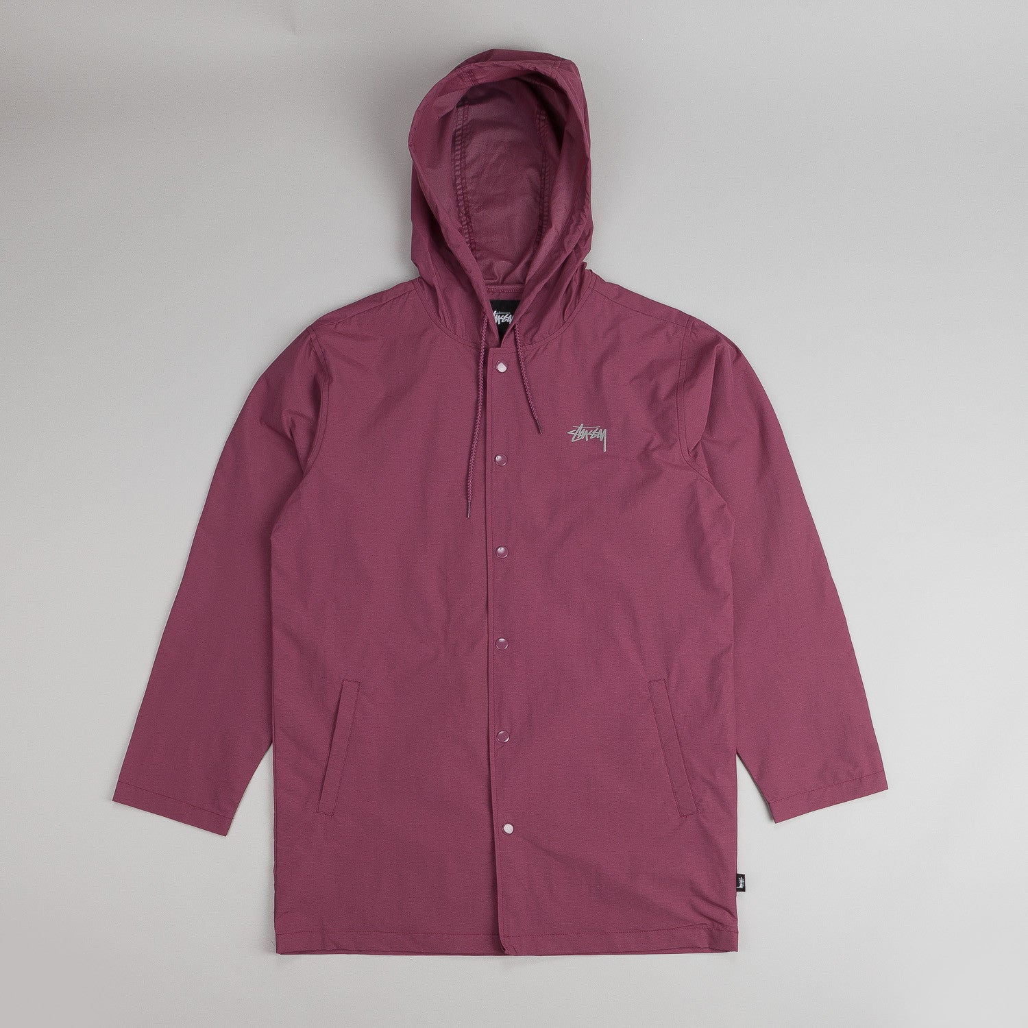 Stussy Hooded Long Jacket