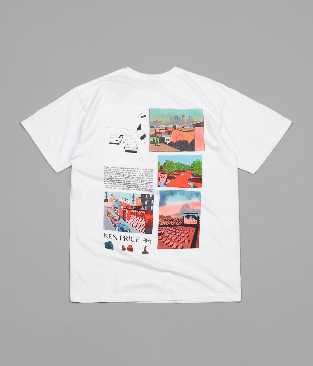 Stussy Imaginary Spaces T-Shirt - White