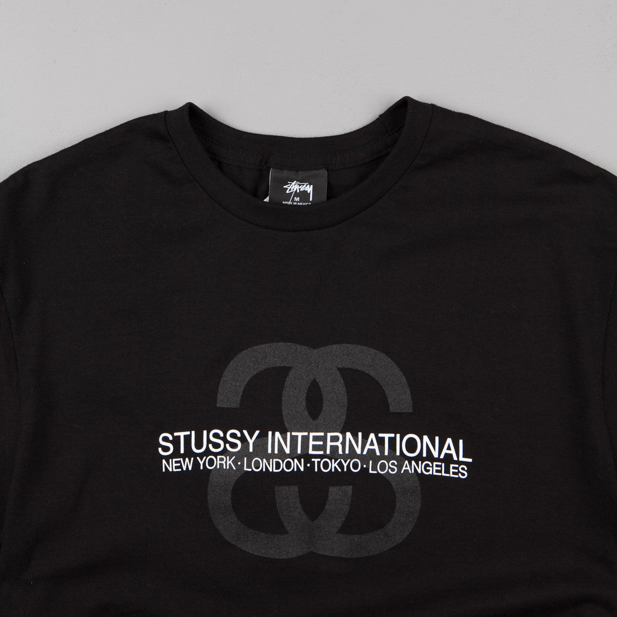 Stussy SS Link International T-Shirt - Black