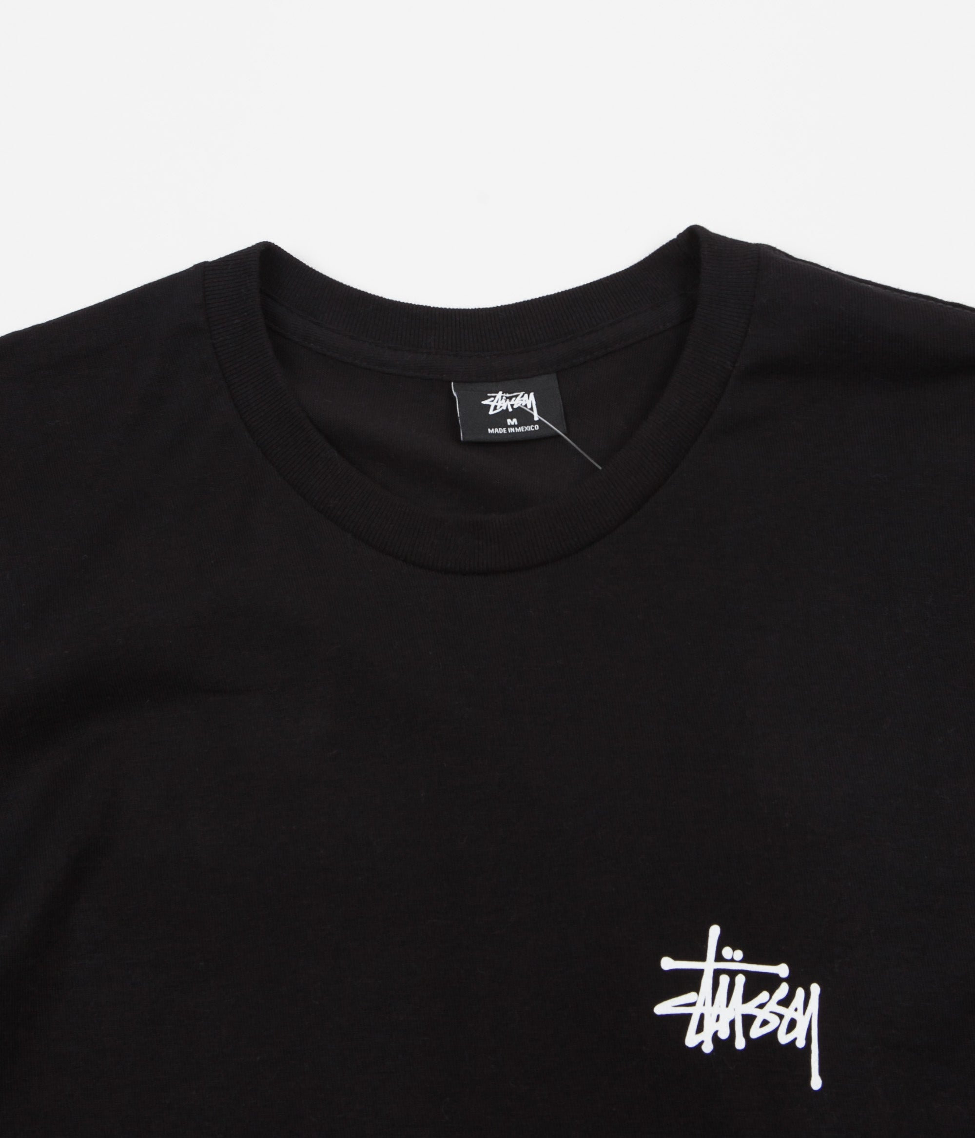 Stussy International Arc Long Sleeve T-Shirt - Black