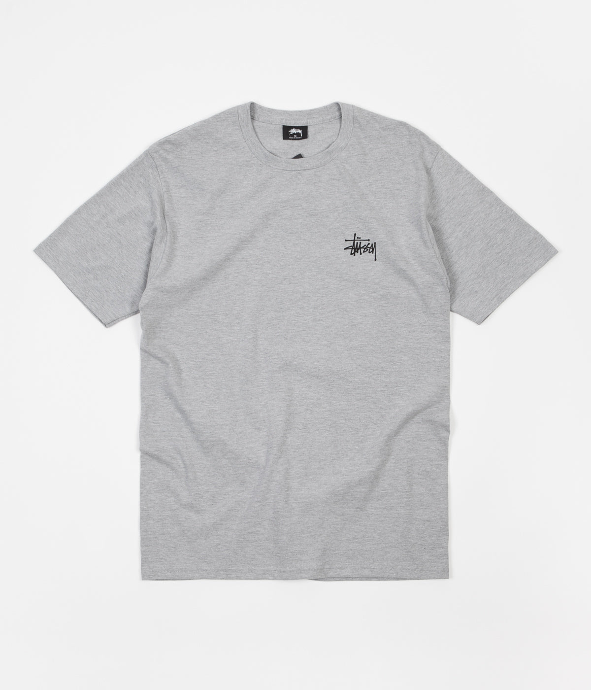 Stussy International Arc T-Shirt - Grey Heather