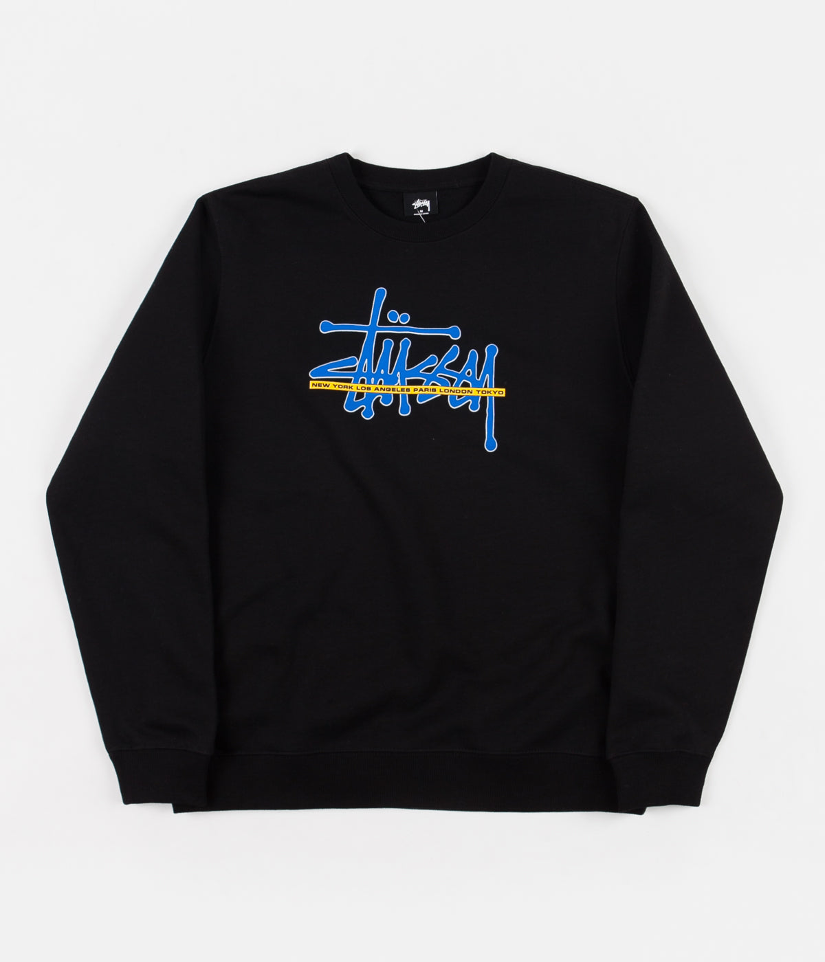 Stussy International Crewneck Sweatshirt - Black