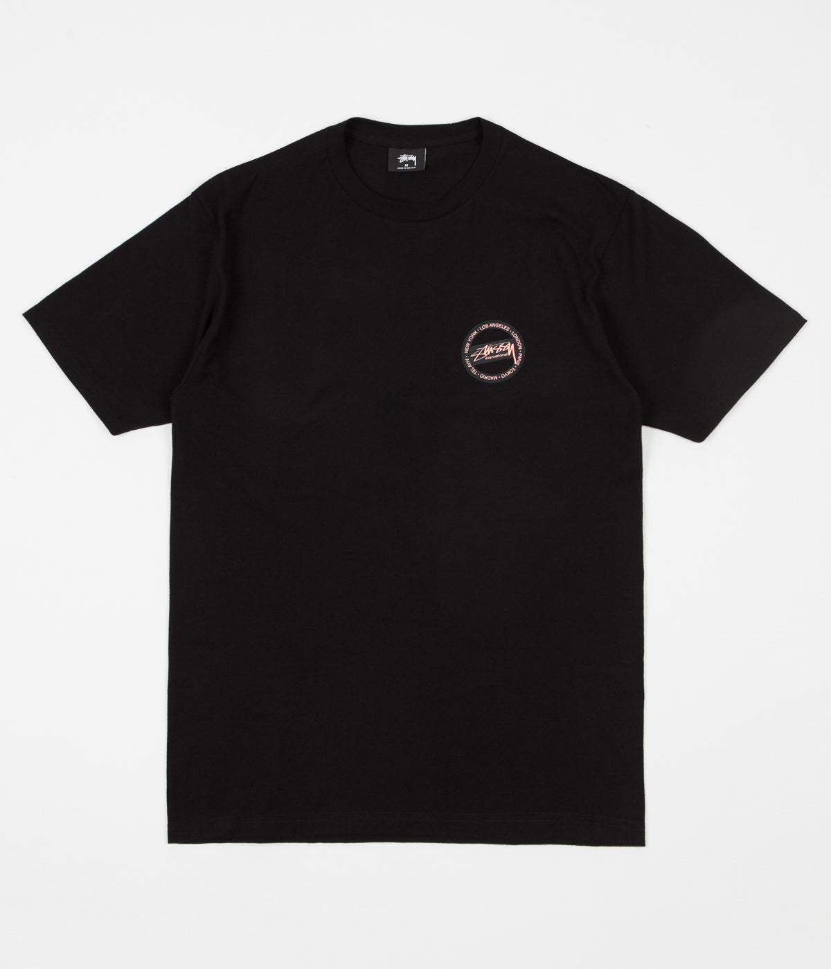 Stussy International Dot T-Shirt - Black