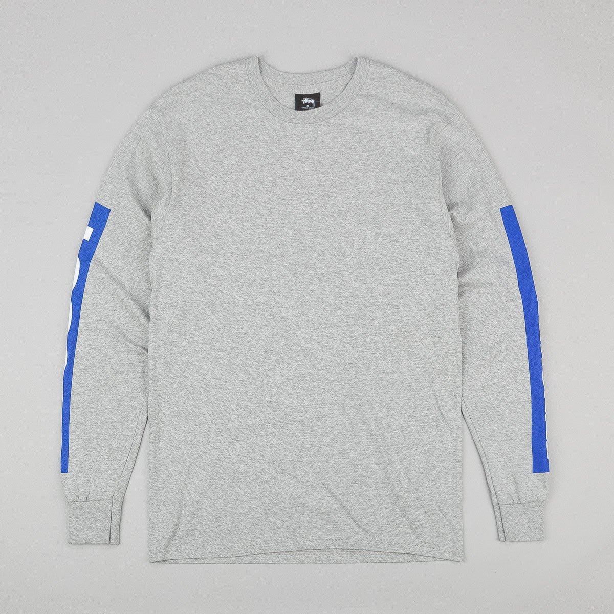 Stussy International Long Sleeve T-Shirt - Grey Heather