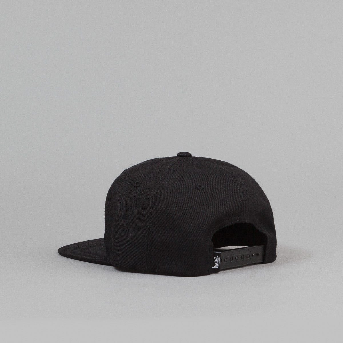 Stussy International No.4 Snapback Cap - Black
