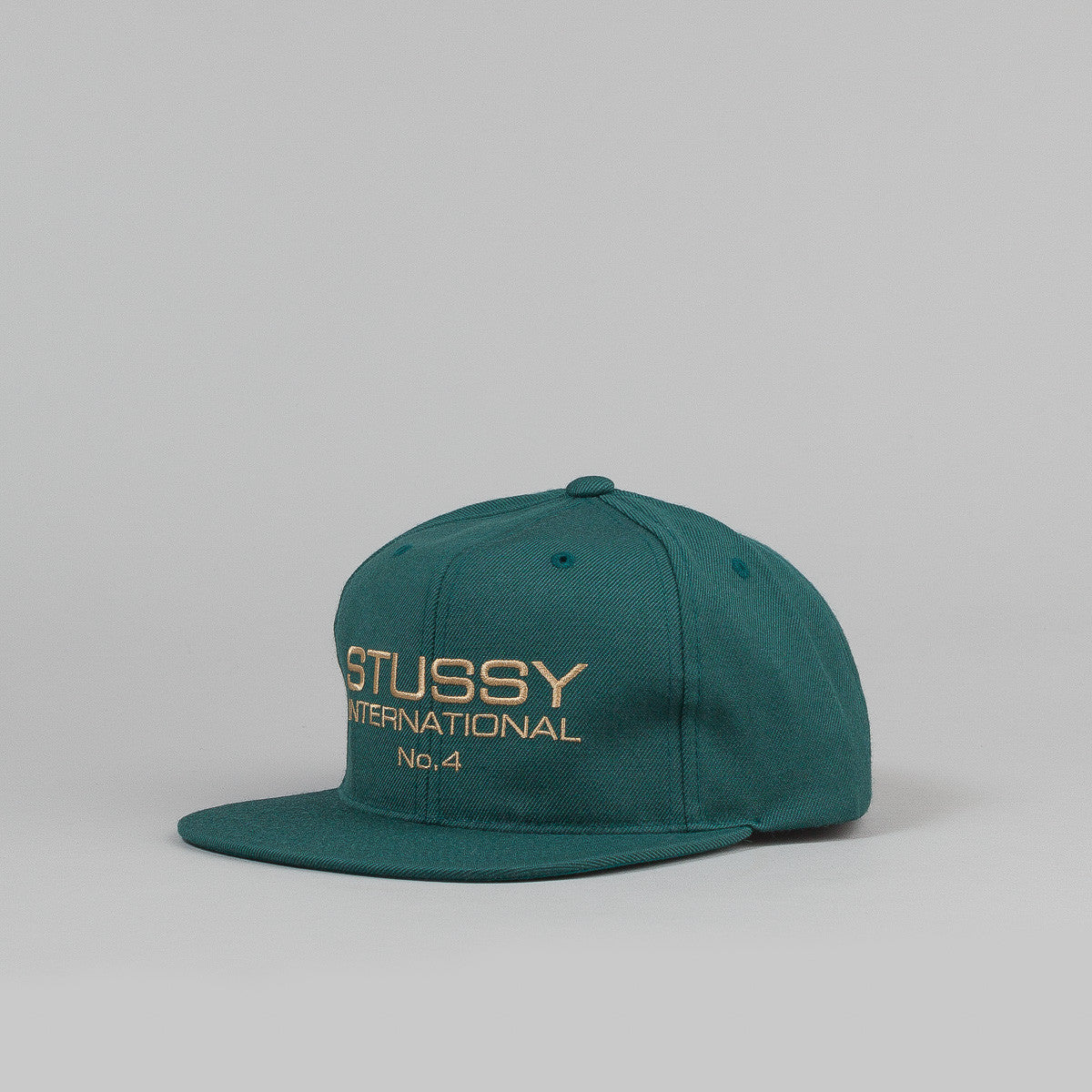 Stussy International No.4 Snapback Cap