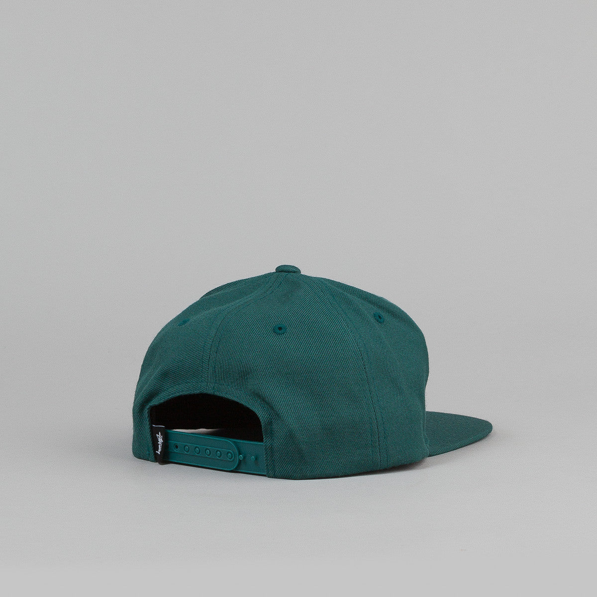 Stussy International No.4 Snapback Cap - Dark Green