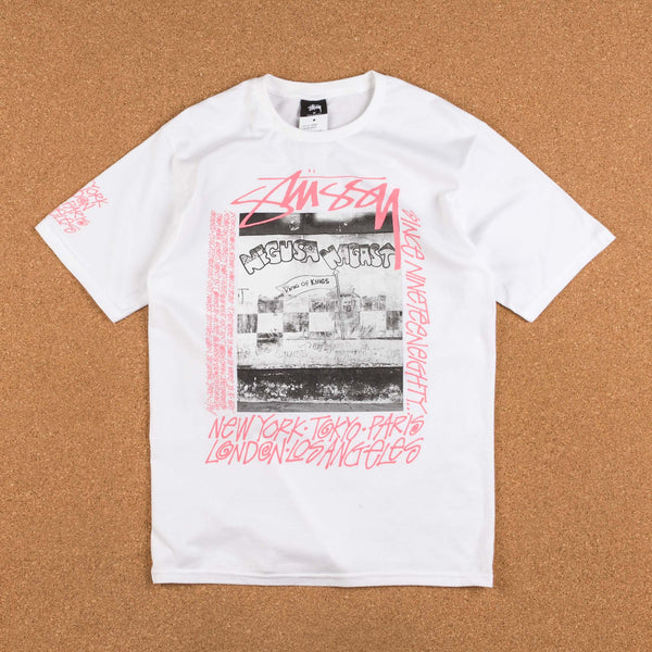 Stussy King Of Kings T-Shirt - White