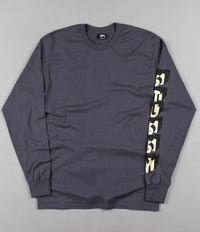 Stussy Blocks Long Sleeve T-Shirt - Midnight
