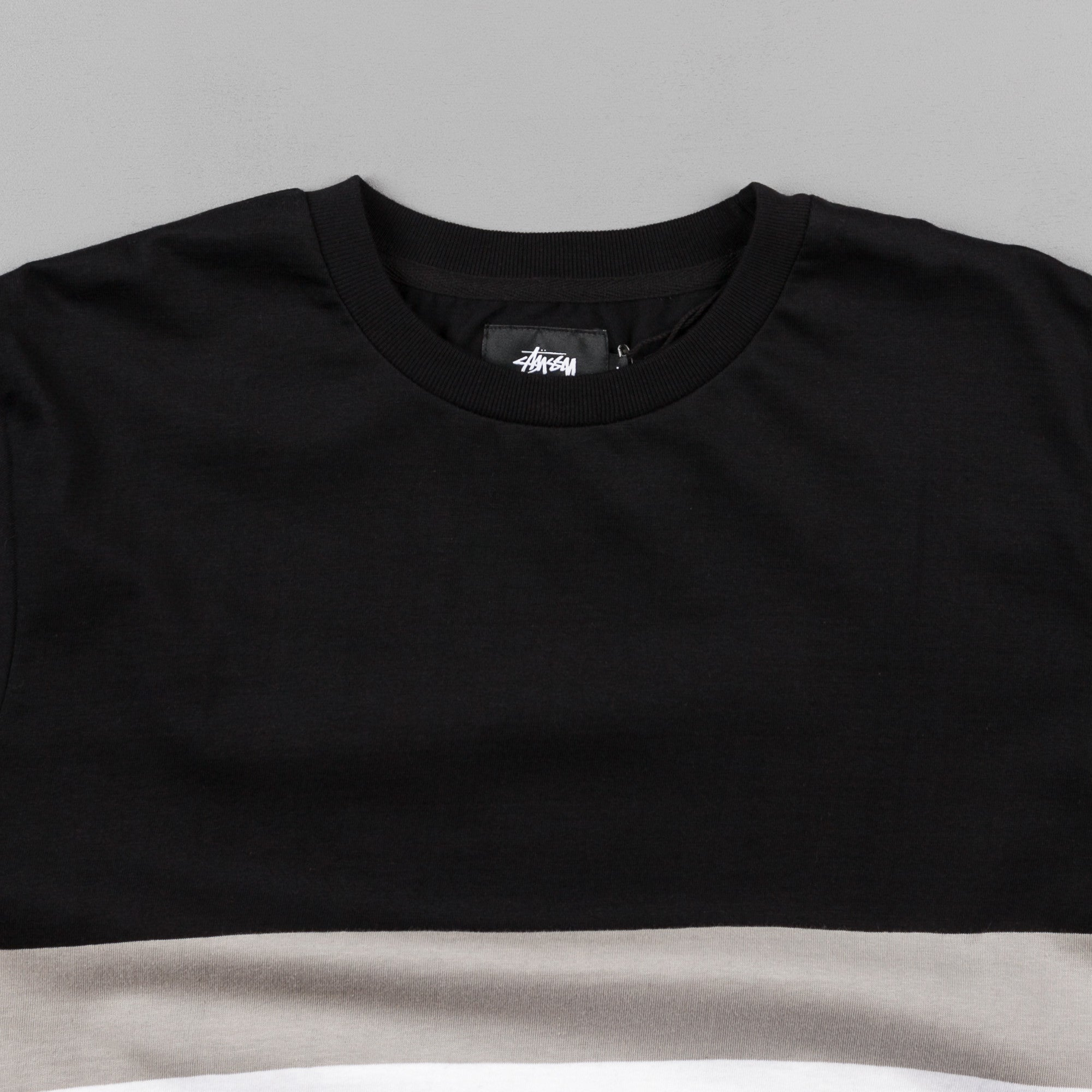 Stussy Race Long Sleeve T-Shirt - Black