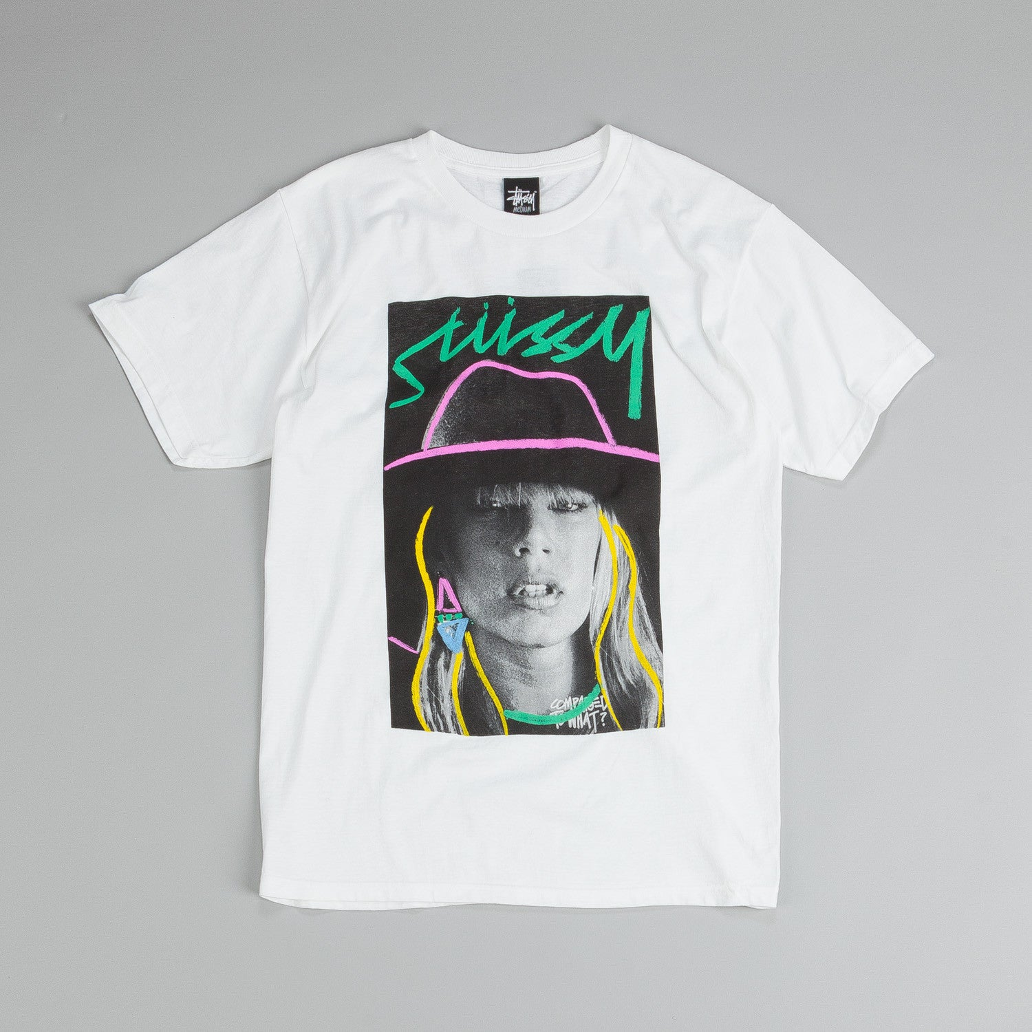 Stussy Laure Sketch T-Shirt White