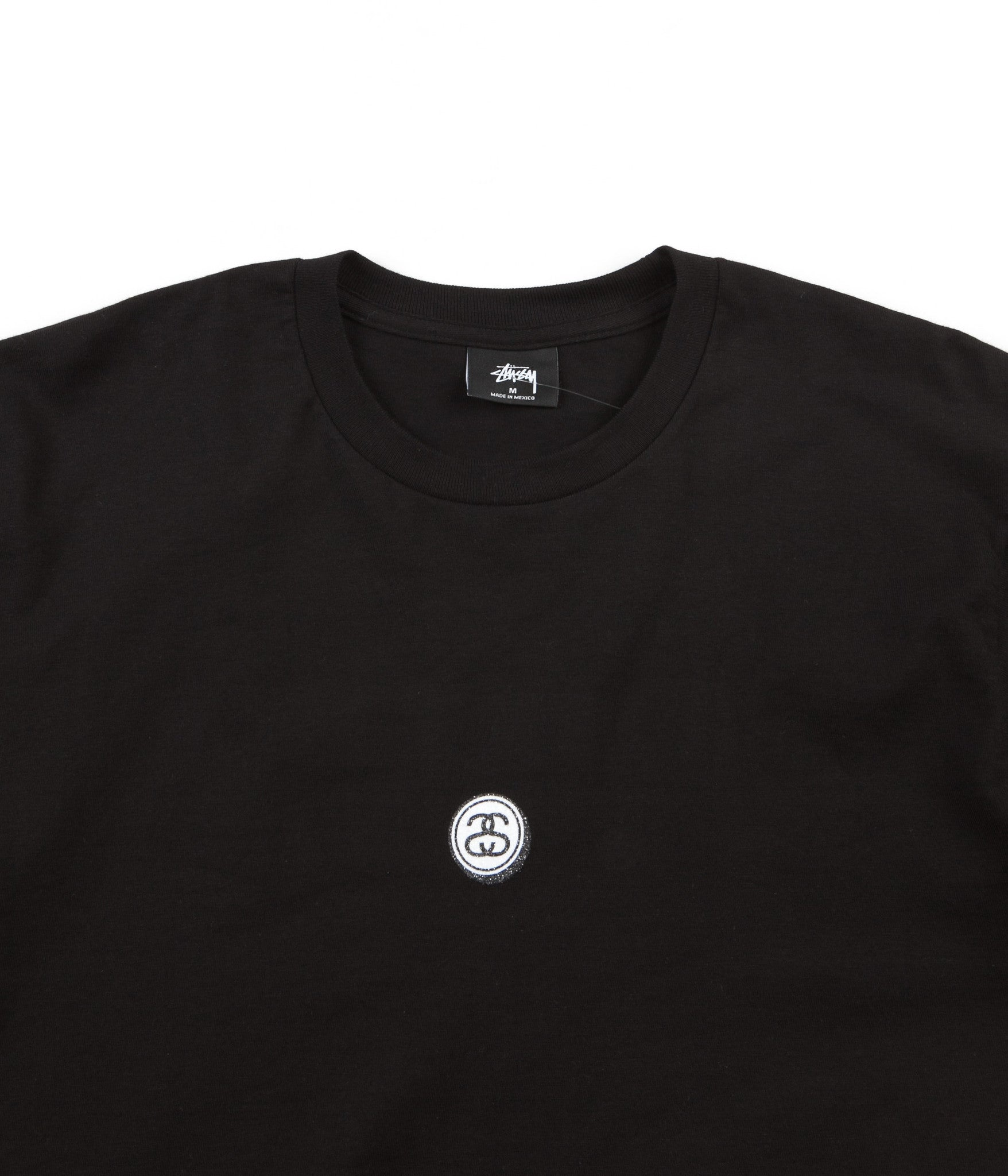Stussy Lil' Link Long Sleeve T-Shirt - Black